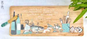 Vaas&Vaas_puidust kodusisustus _lõikelaud_choppingboard_käsitsi_maalitud_köögitarvikud_köök
