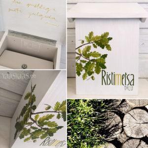 Vaas&Vaas puidust kodusisustus kingitused postkas puidust postkast