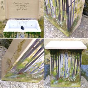 Vaas&Vaas puidust kodusisustus kingitused postkas puidust postkastpostkast