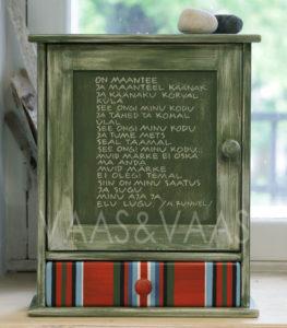 Vaas&Vaas_puidust kodusisustus _kingitused_võtmekapp_home_homedecore