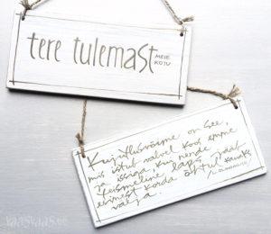 Vaas&Vaas_puidust kodusisustus _vineerist_silt_uksesilt_kirjakunst_letterart