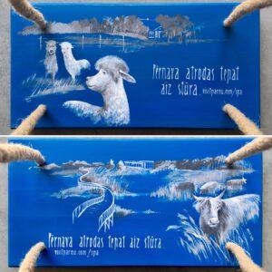 Vaas&Vaas-puidust kodusisustus –kiiged-swings-kingitus-käsitsi maalitud
