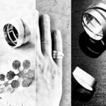 hõbedast sõrmused ja kõrvarõngad