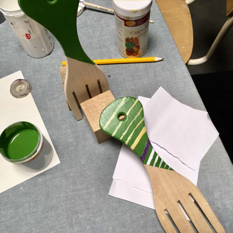 Salatikavite disainimise töötuba kolme karu kaubamajas