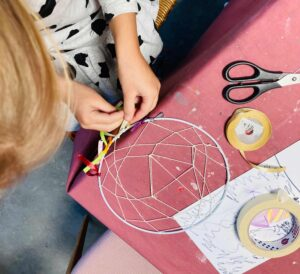Unenäopüüdja meisterdamise töötuba lastele ja täiskasvanutele